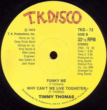 Timmy Thomas - Africano/ Funky Me/ Why Can
