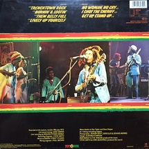 Bob Marley And The Wailers - Live! [LP]