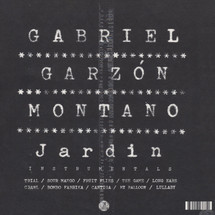 Gabriel Garzon-Montano - Jardin (Instrumentals)