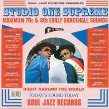 VA - Studio One Supreme: Maximum 70s & 80s Early Dancehall Sounds [3LP]