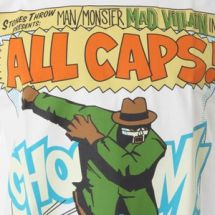 Madvillain - All Caps! Tee - white [t-shirt]