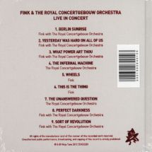 Fink - Meets The Royal Concertgebouw Orchestra [CD]