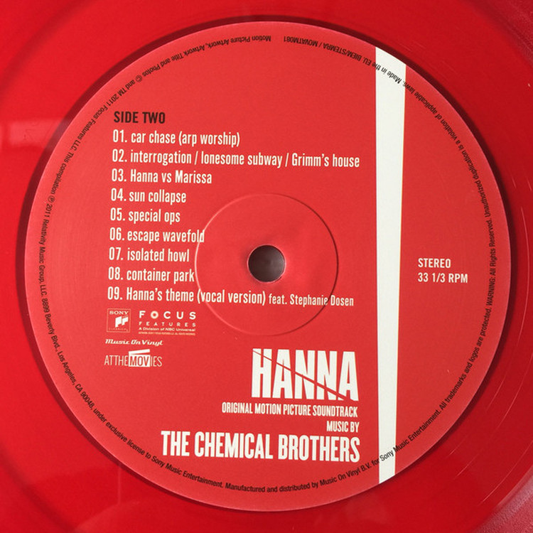 The Chemical Brothers Hanna Ost Lp