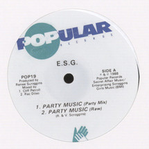 """ESG - Party Music/ Moody (A New Mood) [12""""]"""