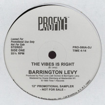 "Barrington Levy - Vibes Is Right [12""]"