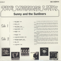 Sunny & The Sunliners - The Missing Link [LP]