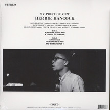 Herbie Hancock - My Point Of View (180g Deluxe Gatefold Edition) [LP]