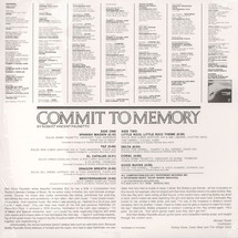 Bobby Paunetto - Commit To Memory [LP]