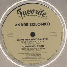 """Andre Solomko - Le Premier Disco Sans Toi [12""""]"""