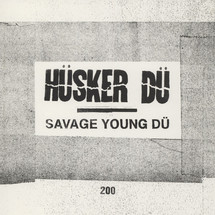 Husker Du - Savage Young Du (4LP+Book) [4LP]