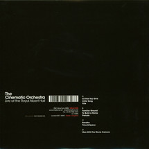 The Cinematic Orchestra - Live at the Royal Albert Hall [2LP]