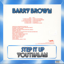 Barry Brown - Step It Up Youthman [LP]
