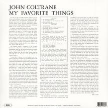 John Coltrane - My Favorite Things (180g Deluxe Gatefold Edition) [LP]