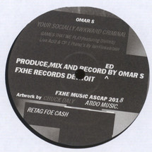 "Omar S - Your Socially Awkward Criminal [12""]"