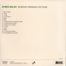 Ahmed Malek - Musique Original De Films [LP]