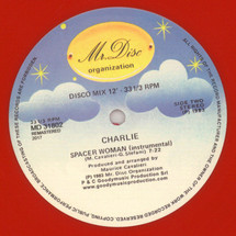 """Charlie - Spacer Woman (Red Vinyl Edition) [12""""]"""