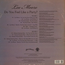 Lee Moore - Do You Feel Like A Party? Rare Singles - Memphis 1979-84 [LP]