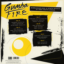 VA - Gumba Fire: Bubblegum Soul & Synth-Boogie In 1980s South Africa [3LP]