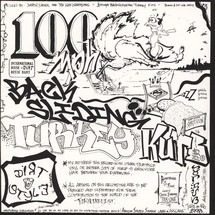 "DJ Q-Bert - 100 MPH Backsliding Turkey Kuts [7""]"