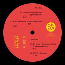 "Jetlagz/ Karol Aleksander/ Mr Krime/ Paulina Przybysz/ Sotei - Record Store Day Warsaw 2018 Sampler [12""]"