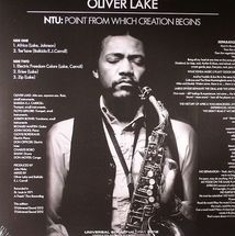 Oliver Lake - NTU: Point From Which Creation Begins [LP]