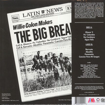 Willie Colon - Wanted By The FBI/ The Big Break (RSD 2018) [LP]
