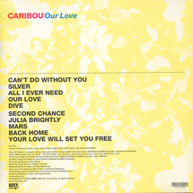 Caribou - Our Love (180g)