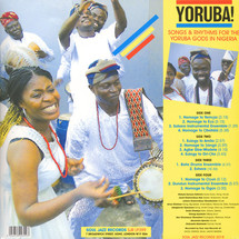 VA - Yoruba! Songs & Rhythms For The Yoruba Gods In Nigeria [2LP]