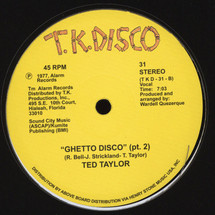 "Ted Taylor - Ghetto Disco [12""]"