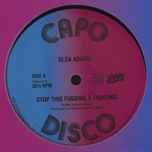 "Glen Adams - Stop That Fussing And Fighting [12""]"