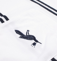 Koszulka by Parra - Pocket Tee Fallen - white [t-shirt]