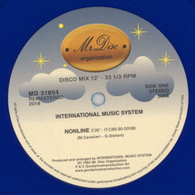 "International Music System - IMS (Remastered Blue Vinyl Edition) [12""]"