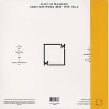 Kuniyuki Takahashi - Early Tape Works (1986 - 1993) Vol. 2 [LP]