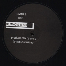 "Omar S - HSG (High School Graffiti) [2x12""]"