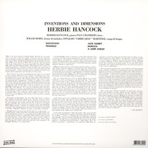 Herbie Hancock - Inventions & Dimensions [LP]