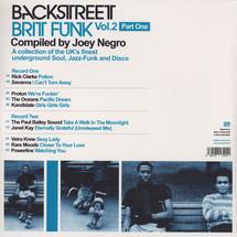 Joey Negro - pres. Backstreet Brit Funk Vol.2 Part One [2LP]