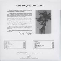 Dave Bixby - Ode To Quetzalcoatl [LP]