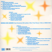 VA - Onda De Amor: Synthesized Brazilian Hits That Never Were (1984-94) [2LP]