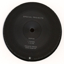 "Private Press - Zero Sum EP [12""]"