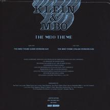 """Klein & MBO - The MBO Theme [12""""]"""
