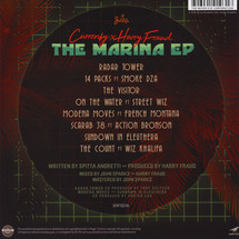 Currensy & Harry Fraud - The Marina (Blue Vinyl Edition) [LP]