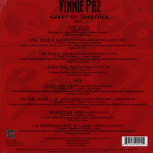 Vinnie Paz of Jedi Mind - Carry On Tradition (Colored Vinyl Edition) [LP]