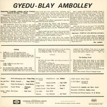 Gyedu-Blay Ambolley - Simigwa [LP]