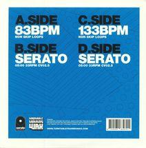 "DJ Ritchie Ruftone - Practice Yo! Cuts x Serato - blue [2x7""]"