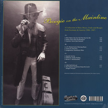 VA - Boogie On The Mainline: A Collection Of Rare Disco And Boogie Funk From Germany 1980-1987 [2LP]