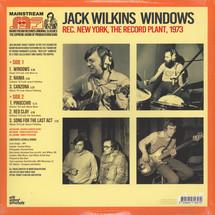 Jack Wilkins - Windows [LP]