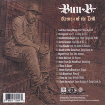 Bun B - Return Of The Trill [CD]