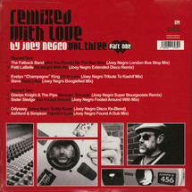 Joey Negro - Remixed With Love Vol. 3 (Part One) [2LP]