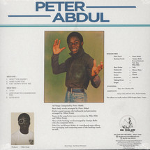 Peter Abdul - Get Down With Me [LP]