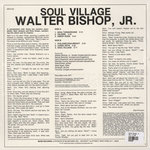 Walter Bishop Jr. - Soul Village [LP]
